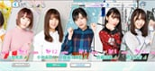 「UNI'S ON AIR」欅坂46メンバー選択画面