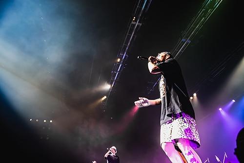 "ORANGE RANGE結成20周年記念ライブ「一日千秋""楽"" vol.3」 山口・KDDI維新ホール公演の様子。"