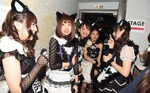 「完全なるライブハウスツアー2016~猫耳捨てて走り出すに゛ゃー~」東京公演直前の様子。