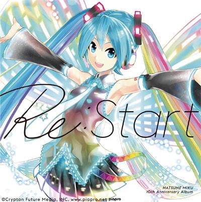 V.A. 「HATSUNE MIKU 10th Anniversary Album『Re:Start』初回限定盤 」