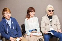 左から164、Mayumi Morinaga、DJ UTO。