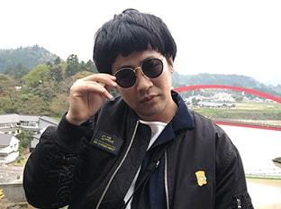 「アポロン山崎、ラフレクラン、ラニーノーズと行く!奥会津パワースポット巡りで開運UP!ツアー」の様子。