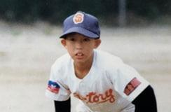 小学生時代の森田。