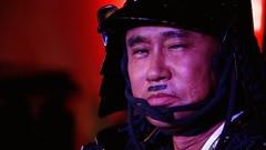 何かを企む武将・浜田。