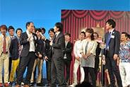 相席スタートを傘下に収めようとするトレンディエンジェル斉藤。