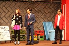 「舞台ウレロ☆未解決少女」の一場面。