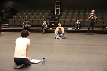 第19回AAF戯曲賞 受賞記念公演「ねー」プレリハーサルより。