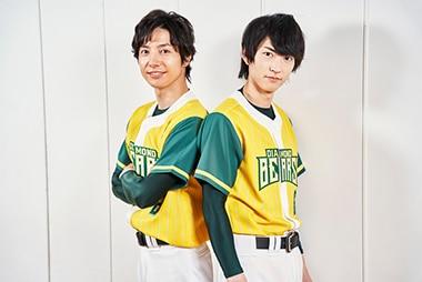左から和田琢磨、和田雅成。