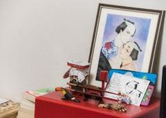 紗久楽に贈られた「百と卍」のファンアート。
