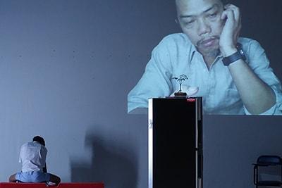 「プラータナー:憑依のポートレート」タイ初演より。(Photo:Tananop Kanjanawutisit)