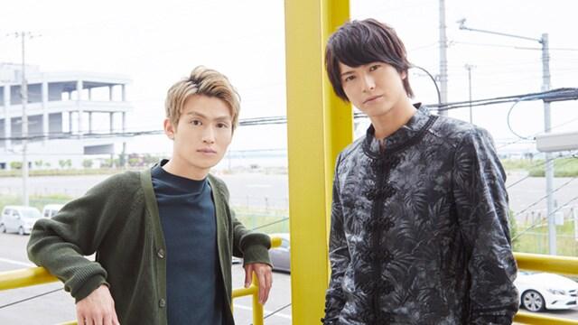 左から松田凌、中村優一。