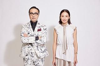 左から松尾スズキ、吉田羊。